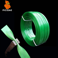 PET Plastic Steel Packaging Belt Strapping Fixed Strip Braid Rope Tape Building Material Wood Goods Logistics Transport Tray