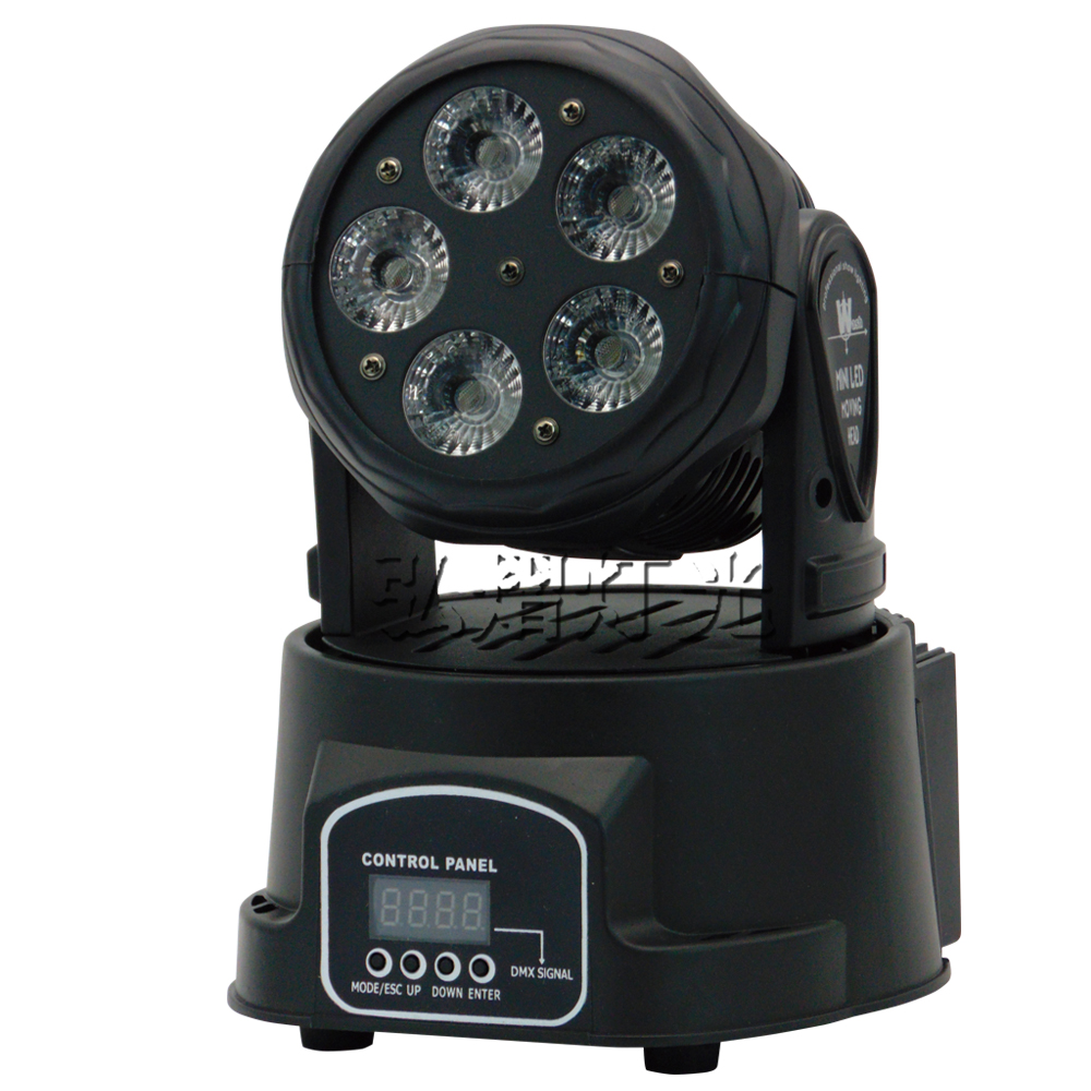 Led Moving Head DMX Wash RGBWA UV 6in1 5x18w Mini Music Sound Light Stage Christmas Party Show Disco Dj Dmx Rgbw Light 8 units led moving head dmx wash 18x3w mini music sound light stage christmas party lumiere laser show disco dj dmx rgb light