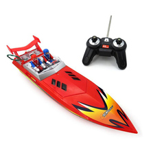 15km/h Childrens High-Speed Remote Control Boat Water Navigation Model Infrared Speedboat Toy Electric Yacht