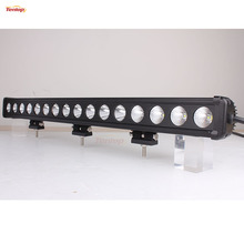 28 Inch Single Row 16*10W 160W LED Light Bar for Offroad 4*4 SUV ATV Tractor Boat 12V 24V