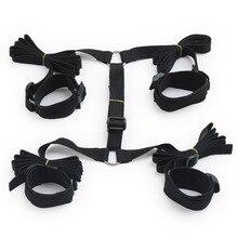 Under Bed BDSM Bondage Restraints System S&M SM Sex Handcuffs Ankle Cuffs Erotic