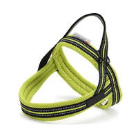 Nylon Basic Halter Harnesses Reflective Dogs Harnesses Professional Out Door Pet Puppy Harness Breathable Dog Chest