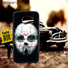 myers halloween soft TPU edge cell phone cases for samsung s6 plus s7 s8 s9 s10 lite e note8 note9 cover case