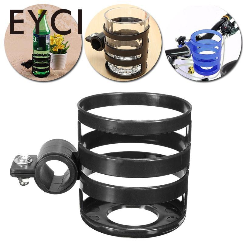 EYCI Bicycle Bottle Holder Plastic Elastic Bike Drink Cup Water Bottle Holder Bracket Rack Cage Cycling bike MTB bottle holder universal 360 degree rotation antislip cup drink holder for stroller bike wheelchair 88 s7jn