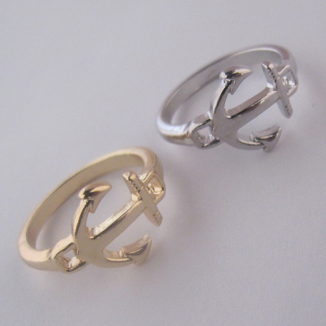 Fashion accessories fashion personalized ring anchor female finger ring