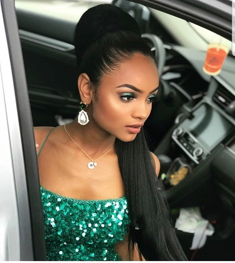 New Arrival Mermaid Long   Prom     Dresses   Sexy Backless 2019 Elegant Green Sequins Evening   Dress   Women Party Gown