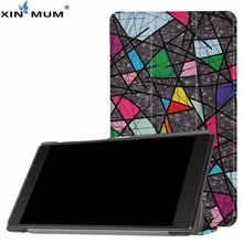 XIN-MUM For Lenovo Tab 7 Essential TB-7304F TB-7304I TB-7304X 7 Inch Smart Filp Stand PU Leather Protective Tablet Case Cover