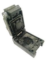 цена на BGA88 Clamshell burn in socket pitch 1.0mm IC size 14*18mm BGA88(14*18)-1.0-CP01NT BGA88 VFBGA88 burn in programmer socket