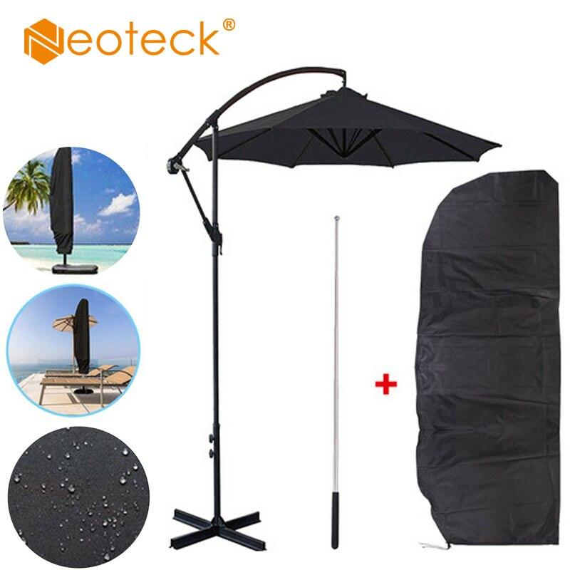 Weatherproof Banana Cantilever Garden Patio Parasol Umbrella Protective Cover