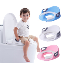 EN71 Baby Potty Chair Children Toilet Seat Comfortable Soft Baby Toilet Seat 1 pcs comfortable cows drawer small infants two colors high quality baby toilet for young children as baby care