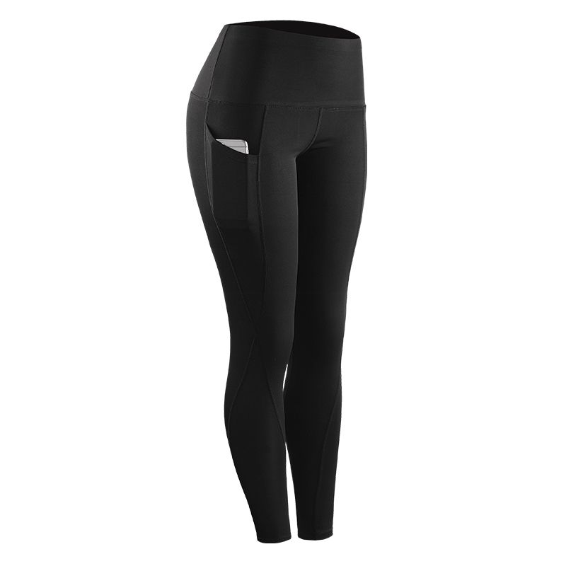 Women High Elastic Leggings Compression Skinny Fitness Leggings Women Stretch Sportswear Casual Leggings Pants with Pocket New