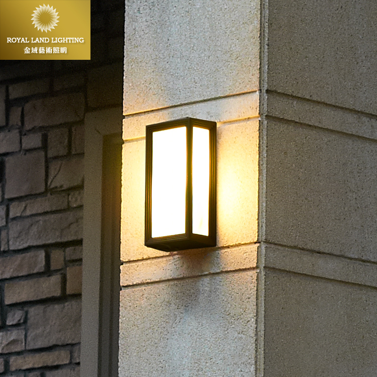 Contemporary Outside Wall Lamps : Aliexpress.com : Buy Fashion modern brief vintage outdoor wall lamp waterproof lighting fitting ...