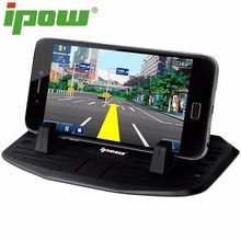 IPOW Silicone Phone Holder Dashboard Car Mount Stand For iPhone 7/ 7 Plus/ 6s/6plus/5 Samsung Smartphone GPS  Phone Accessories