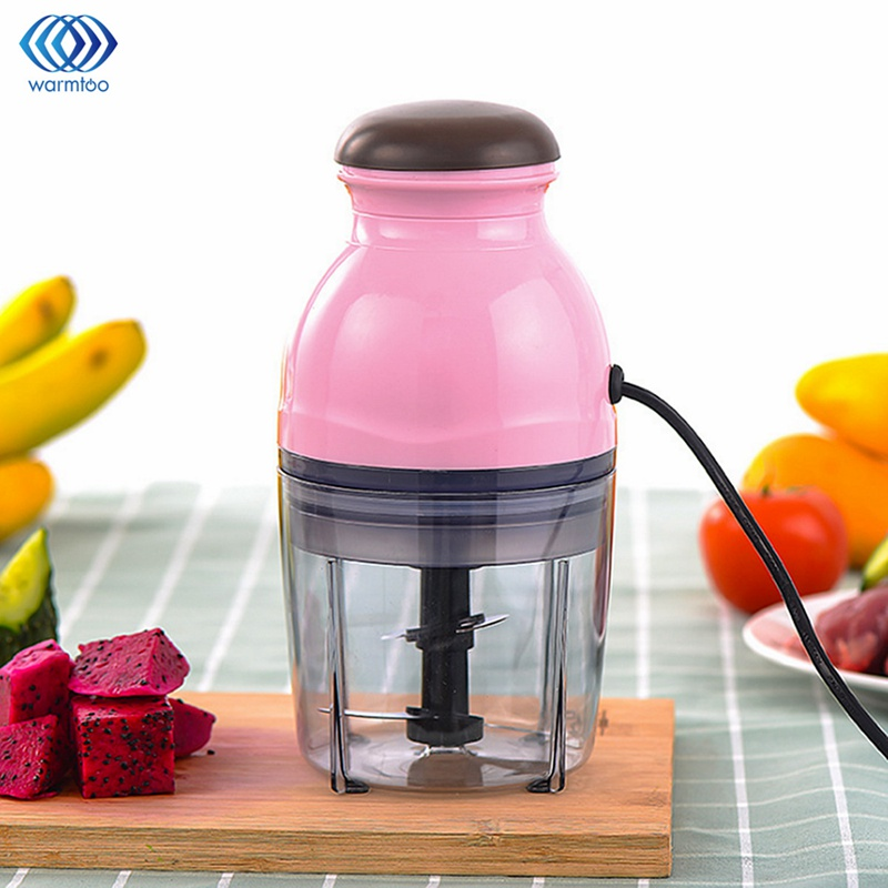 Mini Food Processor Baby Food Mixing Machine Multifunctional Electric Meat Grinder Fruit Vegetable Milk Shake Household 250W wavelets processor