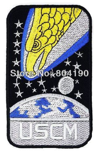 5 ALIEN ALIENS SCREAMING EAGLES USCM Colonial Marines TV MOVIE Series punk rockabilly applique sew on