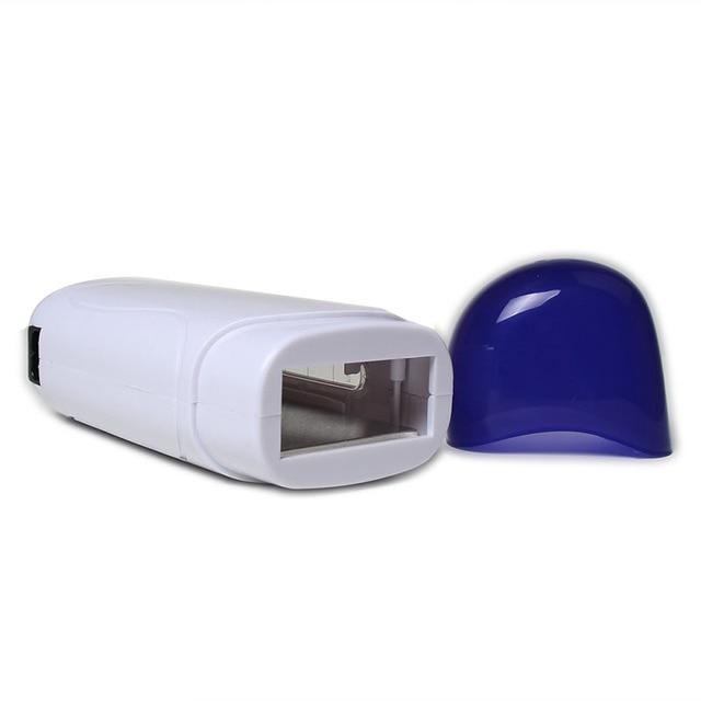 Professional Single Handheld Depilatory Wax Hair Removal Kit Machine with EU Plug Portable Epilator Roll On Depilatory Heater