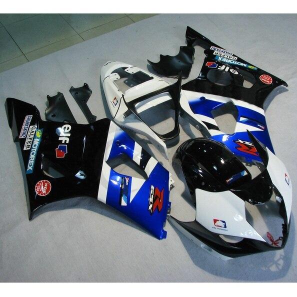 Впрыска ABS пластик кузова обтекатель для Suzuki GSXR1000 GSXR 1000 03 04 К3
