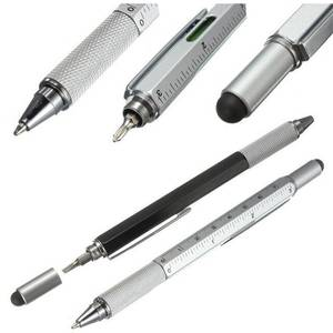 Top 10 ballpoint pen with touch pen brands 1 pcs 7 color metal gift tool touch screen school office supplie stationery pen gumiabroncs Images