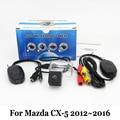 Авто Камера Заднего вида Для Mazda CX-5 CX 5 CX5 2012 ~ 2016/RCA AUX Проводной Или Беспроводной/HD CCD Ночного Видения Автомобильная Стоянка камера