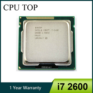 Intel i7 2600 CPU Processor Quad-Core 3.4GHz Socket LGA1155