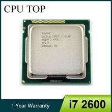 인텔 i7 2600 CPU 프로세서 쿼드 코어 3.4GHz 소켓 LGA1155