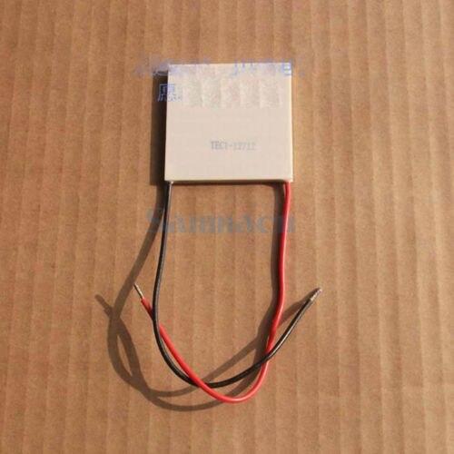 50x50x4.0mm 12A 15V 102W TEC1-12712 Thermoelectric Cooler Peltier Heatsink50x50x4.0mm 12A 15V 102W TEC1-12712 Thermoelectric Cooler Peltier Heatsink