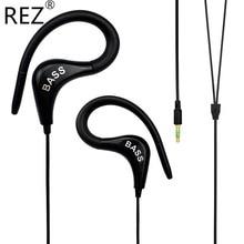 Best Bass PTM Earphone Original Brand Headphones Sport Ear Hook Headset for Mobile Phone Xiaomi Running Mp3