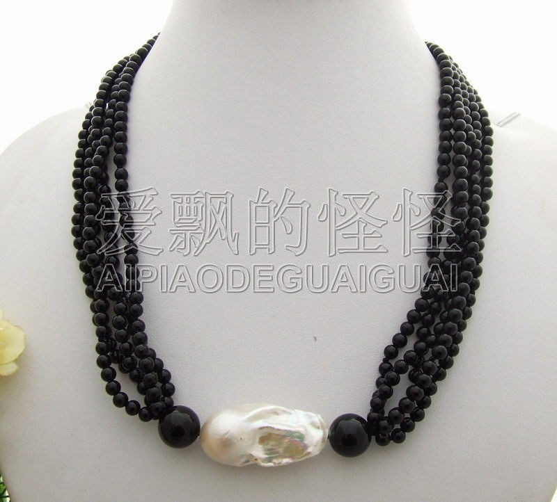 5strands 30mm BeadNucleated...