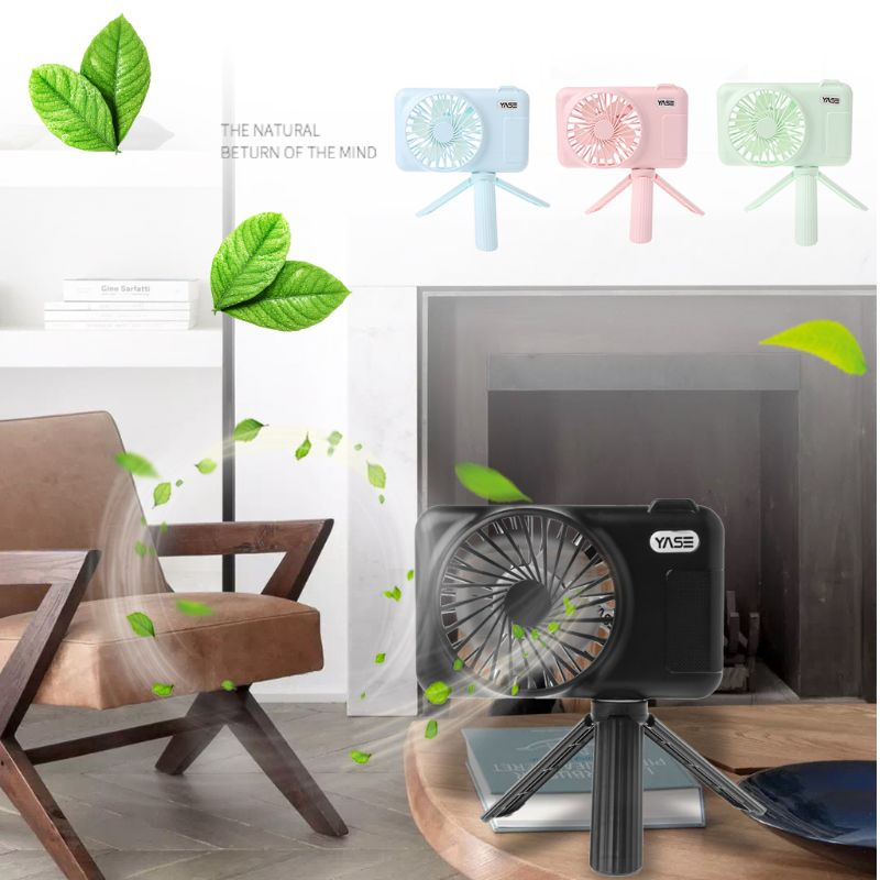 USB Rechargeable Cooling Mini Fan Handheld Stand Retractable Suspension Portable Fan for Student Home Office Travel OutdoorsUSB Rechargeable Cooling Mini Fan Handheld Stand Retractable Suspension Portable Fan for Student Home Office Travel Outdoors