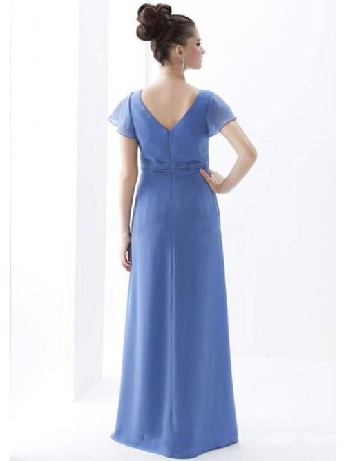 Cheap Chiffon Simple Mother Of The Bride Dresses Plus Size China