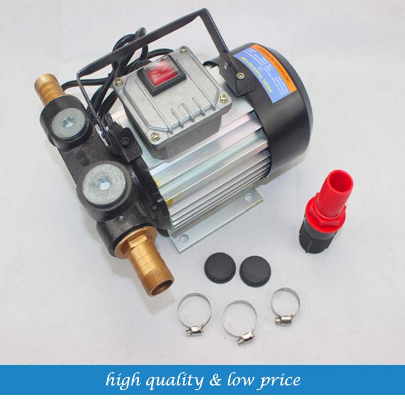 220V 60LPM Portable Exchange Self-priming Pump Small Diesel Pump
