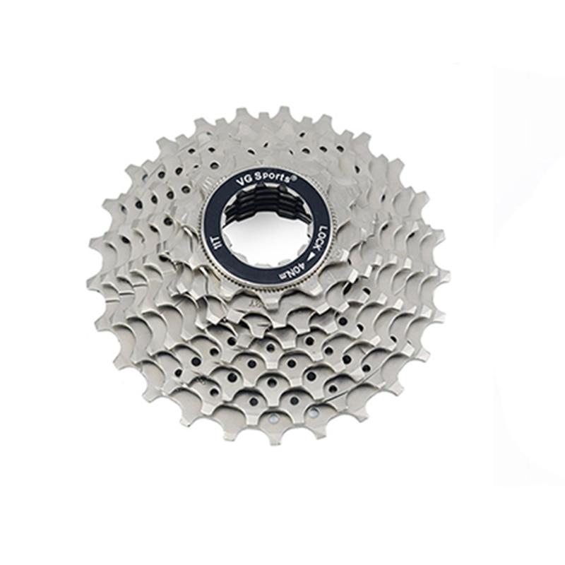 Vg Sports 11-28T Road Bike Cassette 10 Speed Freewheel Sprocket 10S Bicycle Free Wheel Cog Velocity Cdg Ultralight