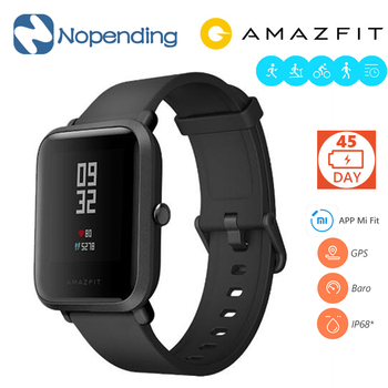 NEW Original Huami Amazfit Bip BIT PACE Lite Youth Smart Watch Mi Fit Reflection Smartwatch Baro IP68 Waterproof for Xiaomi IOS xiaomi huami amazfit bip