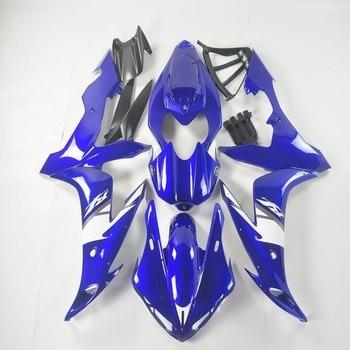 Fei-Motorcycle Fairing Kit for YAMAHA YZFR1 04 05 06 YZF R1 2004 2005 2006 YZFR1000 ABS Matte blue white  Fairings set