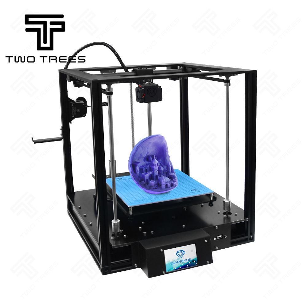 2019 High precision Sapphire Aluminium Profile Frame 3D Printer