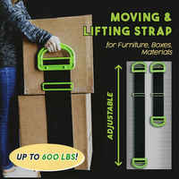Clever Carry Moving Forearm Forklift Lifting Moving Strap Carry Ropes Transport Belt Wrist Straps Home Move Convenient Tools
