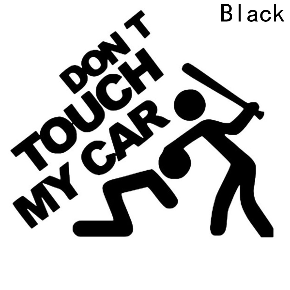 Dont touch my car the car hd car stickers bumper window vinyl decal in car stickers from automobiles motorcycles on aliexpress com alibaba group