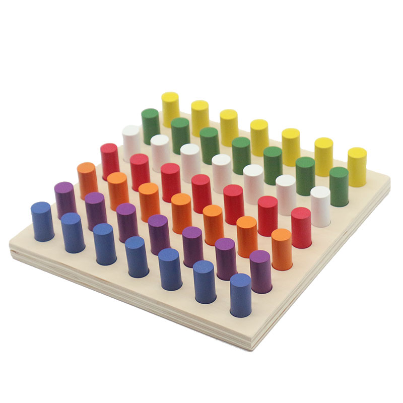 Home Beautiful Wooden Montessori Toys Baby Montessori Four In Line Chess Educational Early Learning Toys For Children Birthday Gift Me2264h