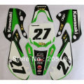 RACING 3M graphics kit decals STICKER for KAWASAKI MOTO motorcycle DIRT PIT BIKE KX65 KLX 110 free shipping