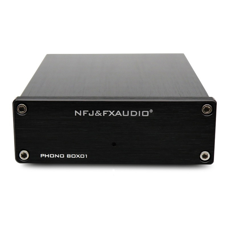 FX-Audio BOX01 Vinyl Record Player Mini MM PHONO Cartridge Pre-amp Amplifier стоимость