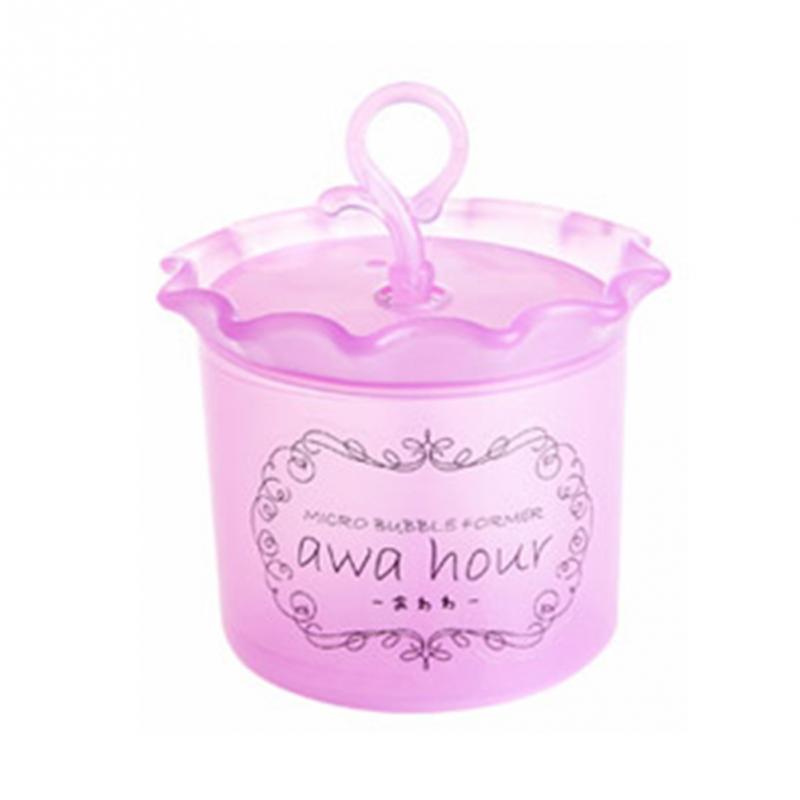 1 шт. высокое качество средство для очистки лица Очищающее пенообразователь чашка пузырьковый Пенообразователь для всех типов кожи - Цвет: Pink