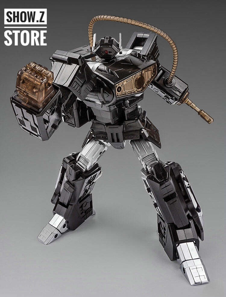цена [Show.Z Store] Cloud 9 W-01B Quakeblast Black Version C9 Cloud9 Quake Blast Shockwave Transformation Action Figure онлайн в 2017 году