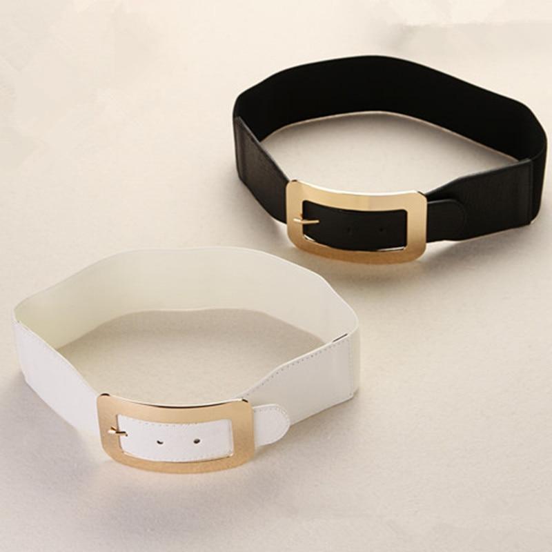 2015 Summer Style Lady Belt Black White Designer 6cm Wide ...