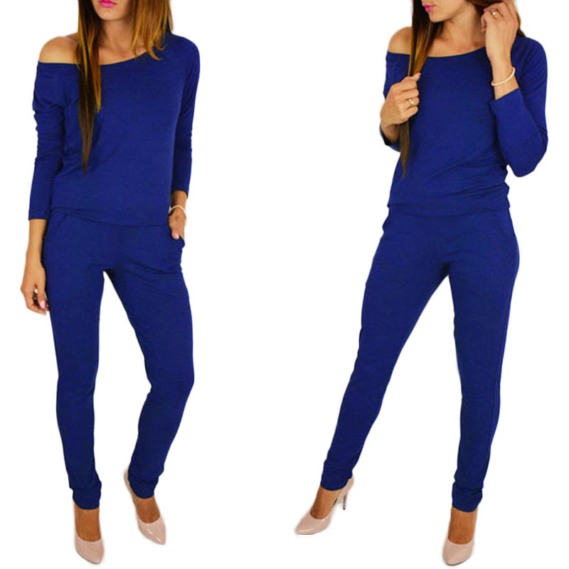 Autumn female body with long sleeves overalls for women combinaison femme sexy bodysuits rompers   jumpsuits