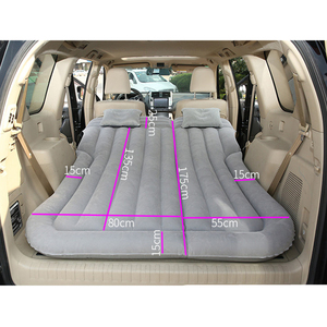 Image 2 - CARSUN 175*135CM Car Bed Camping Car Mattress Inflatable Auto Travel Bed Colchon Inflable Para Auto      Inflatable Car Mattress