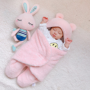 Image 2 - Coperta del bambino swaddle cotone morbido del bambino appena nato swaddle me wrap sleepping borsa decke cobertor infantil bebek battaniye cobijas bebe