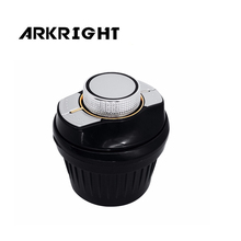 ARKRIGHT Universal Car Steering Wheel Controller 7Key Wireless GPS Navis Steering Wheel car Radio Remote Control Buttons SWC