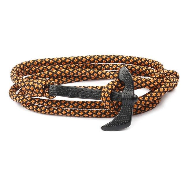 модные многослойные браслеты высокого качества мужские очаровательные фотография
