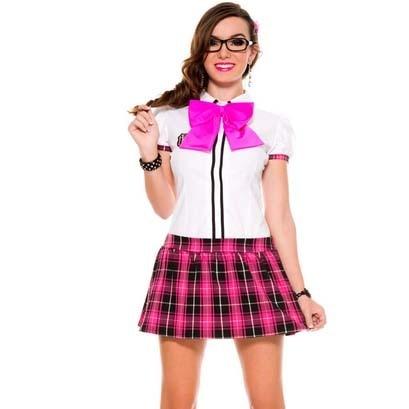 hot nerd school girl costume carnival party cosplay fantasia halloween costumes for women