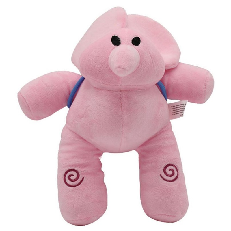 4PC//Set Pocoyo Elly Pato Loula Soft Plush Stuffed Figure Toy Doll Xmas Gift Kid